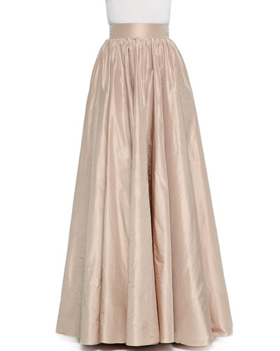 Full Wide-Waist Ball Skirt