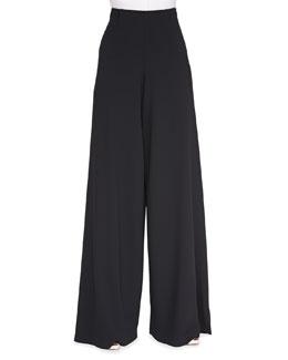 High-Waist Wide-Leg Pants