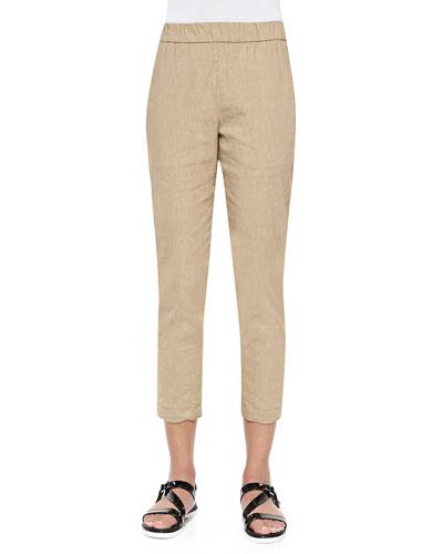 Korene Pull-On Tapered Pants