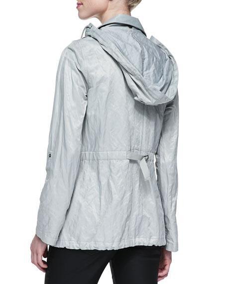 Barker Hooded Metallic Anorak