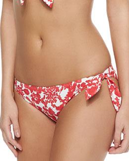 Issy Printed Tie-Side Swim Bottom