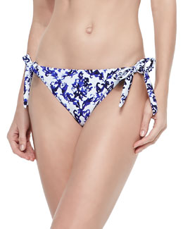 Long Beach Tie-Side Swim Bottom