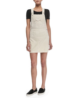 The Gillian Denim Overall Dress