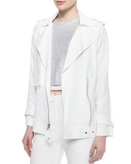 Kral Utility Crepe Suiting Jacket
