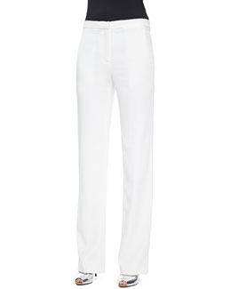 Oliver Wide-Leg Suit Pants