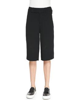 Torison Wide-Leg Bermuda Shorts