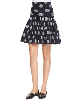Flip Polka Dot Skirt