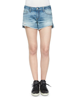 The Cutoff Mid-Rise Denim Shorts, Chesapeake