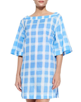 Courtney Square-Print Tunic