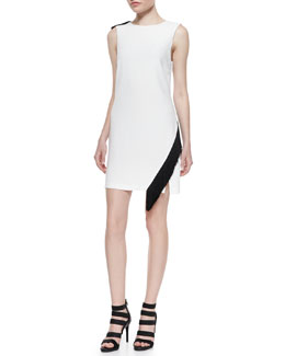 Lottman Woven Crepe Sleeveless Dress