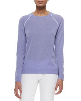 Cashmere Corey Long-Sleeve Sweater