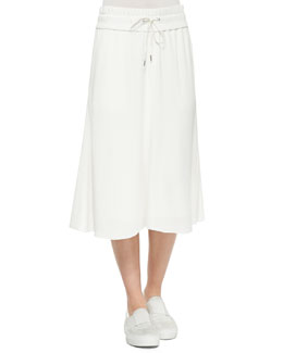 Blaze Pull-On Drawstring Skirt