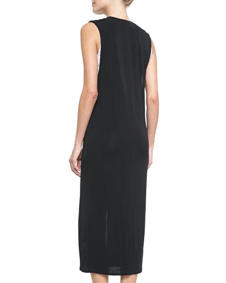 Two-Tone Layered Dress