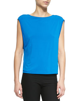 Faint Layering Top in Stretch Knit