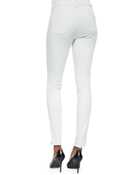 Maria High-Rise Luxe Sateen Pants
