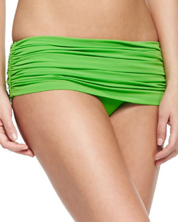 Bill Low-Rise Swim Bottom, Green