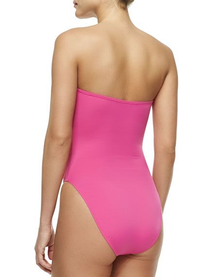 Bishop Bandeau One-Piece Swimsuit