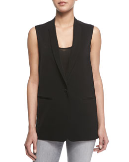 Portier Long Suiting Vest