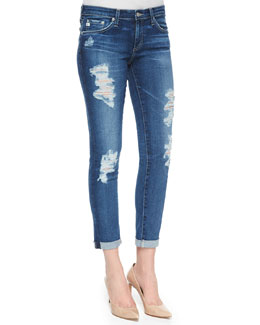 Stilt Roll-Up Skinny Jeans, 11-Year Journey
