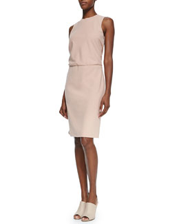 Atle Sleeveless Crepe Dress