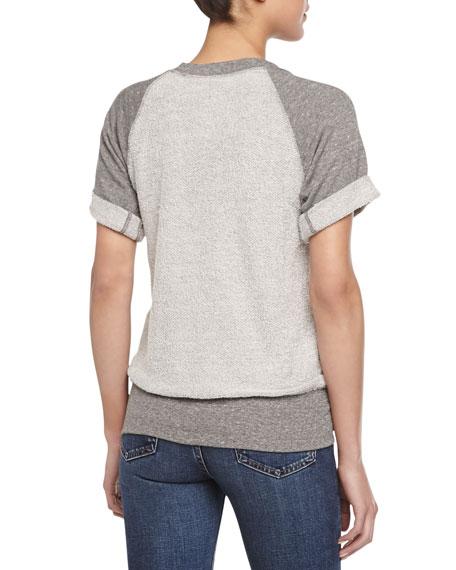 The Athlete Short-Sleeve Sweatshirt