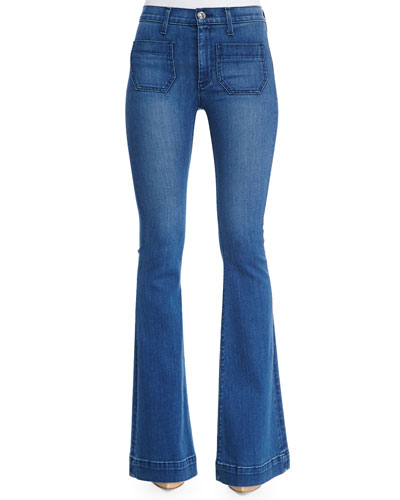Taylor High-Rise Superior Flared Jeans