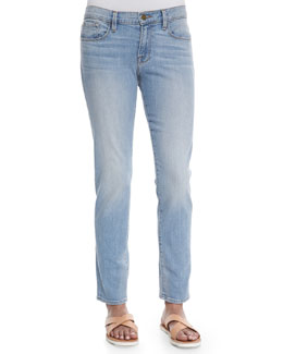 Le Garcon Faded Denim Jeans, Mitchell