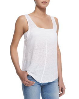 Le Scoop Knit Tank Top