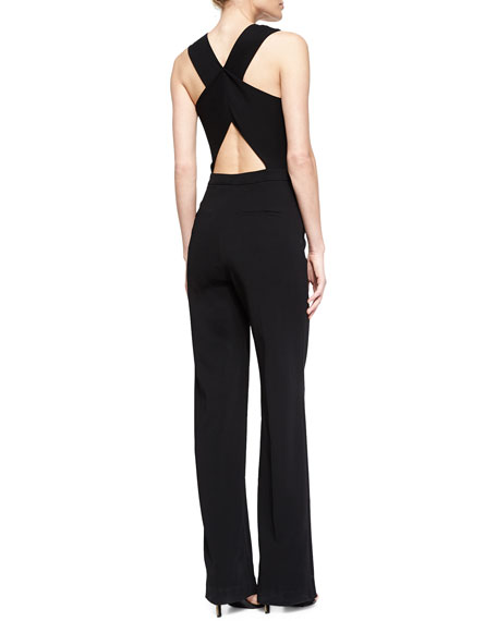 006e5bf53ea6 A.L.C. Luree V-Neck Wide-Leg Jumpsuit