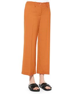 Tennen Wide-Leg Cropped Pants
