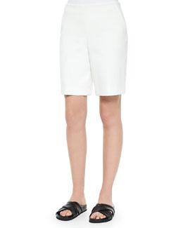 Palanis Smooth-Front Bermuda Shorts