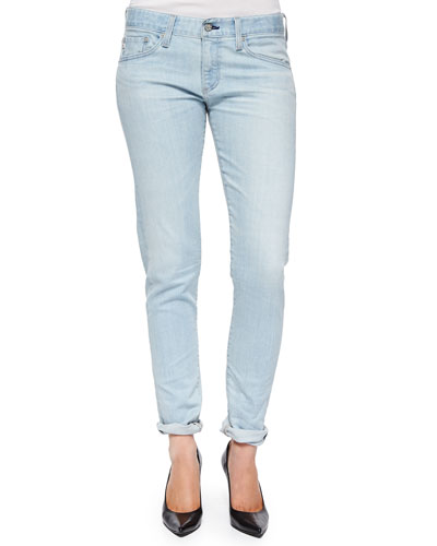 Nikki Relaxed Skinny Jeans, 22-Year Wash