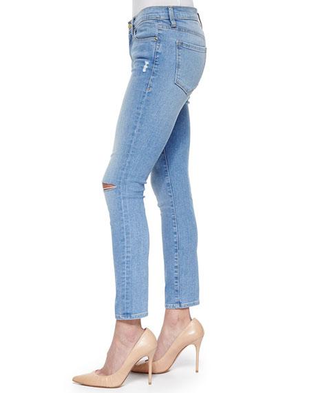 Le Skinny De Jeanne Cropped Jeans