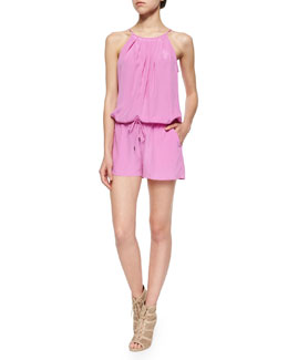 Jarri Please Silk Romper