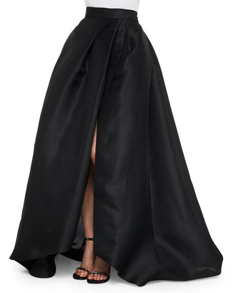 Side-Slit Gazar Ball Skirt