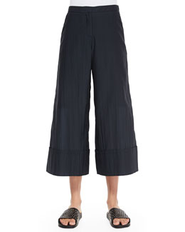 Novara Cuffed Wide-Leg Pants
