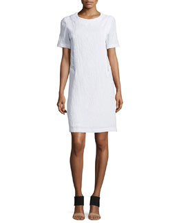 Tubico Crinkled Poplin Dress