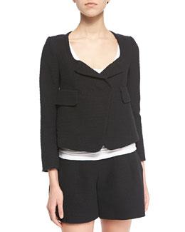Fancy Tweed Empire Jacket