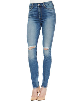 High-Waist Skinny Jeans, Sloan Heritage Medium