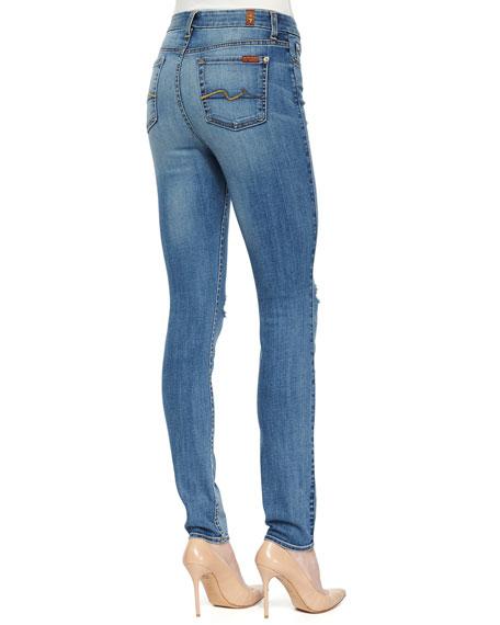 High-Waist Skinny Jeans, Sloan Heritage Medium