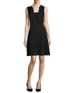 Garner Sleeveless A-Line Dress
