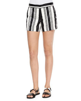 Blaynee Striped Shorts