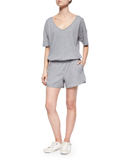 Jiyan Sweatshirt Knit Romper