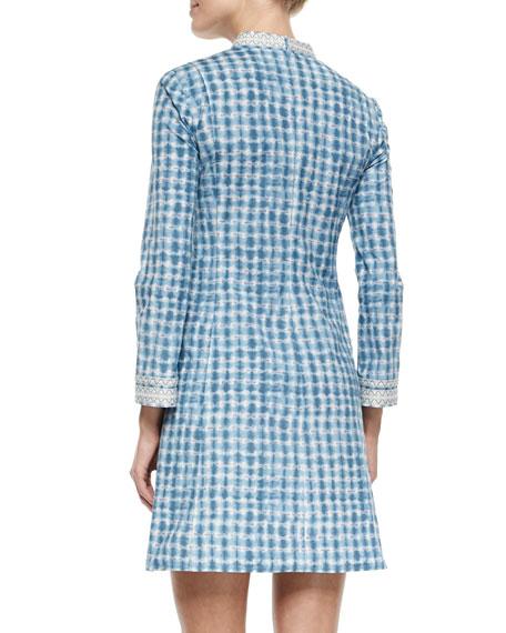 Tory Graphic-Print Mini Dress