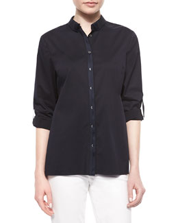 Helena Button-Front Shirt