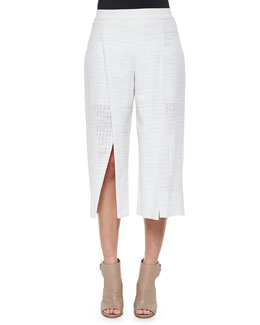Wylie Cotton Eyelet Culottes