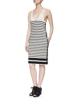 Avila Striped Racerback Dress