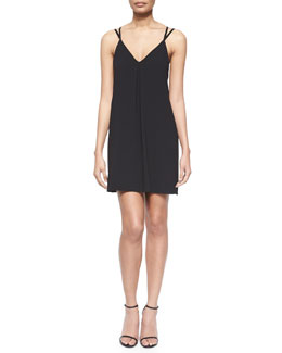 Lianne V-Neck Cutout-Back Dress