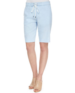 Thanella Bermuda Shorts, Sail Blue