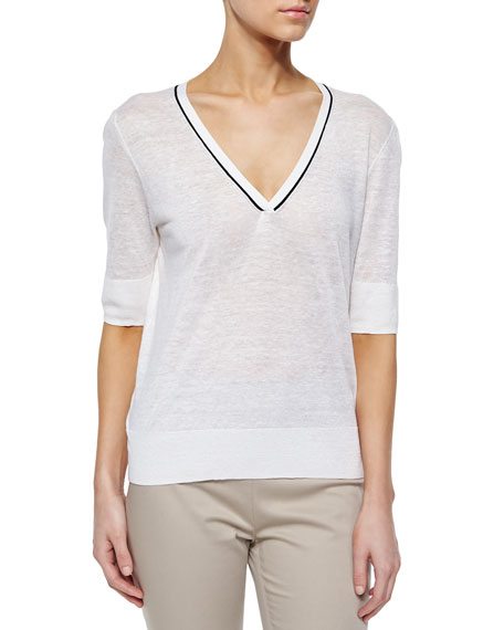 0335597366 Theory Naoleeray Sag Harbor Sweater